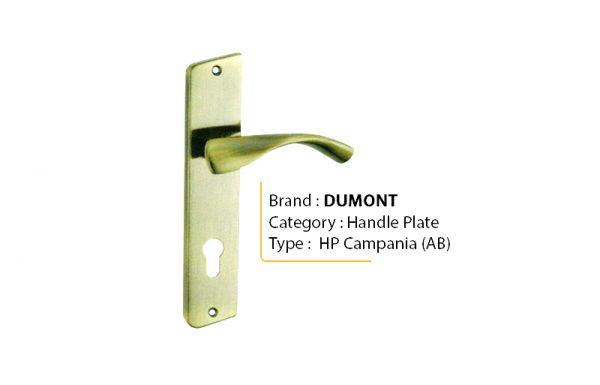 DUMONT CAMPANIA AB – Handle Plate