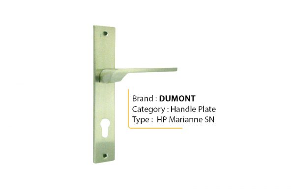DUMONT MARIANNE SN – Handle Plate