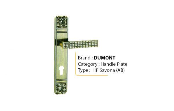 DUMONT SAVONA AB – Handle Plate