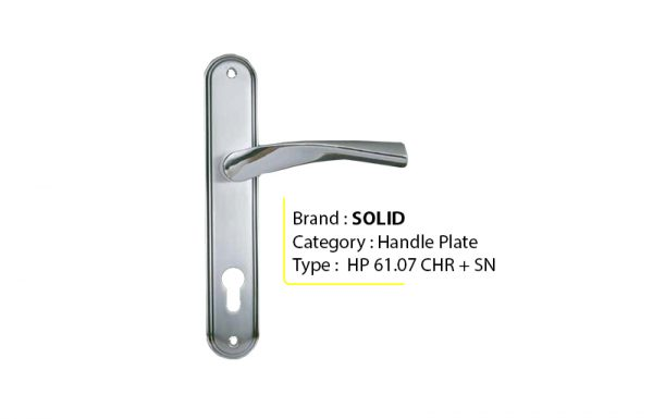 SOLID HP 61.07 – Handle Plate