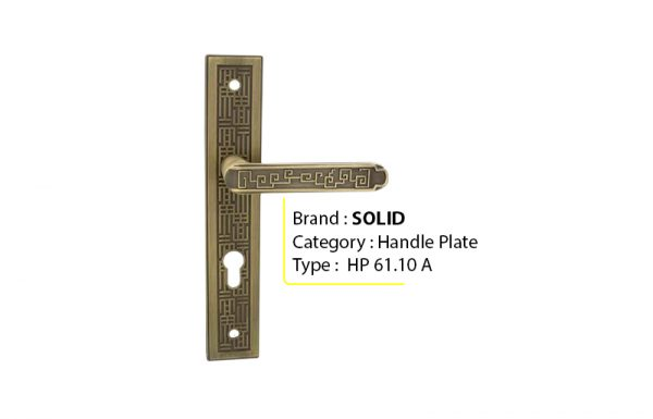SOLID HP 61.10 – Handle Plate