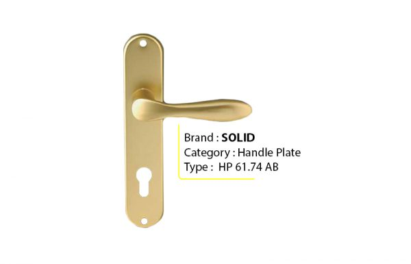 SOLID HP 61.74 – Handle Plate