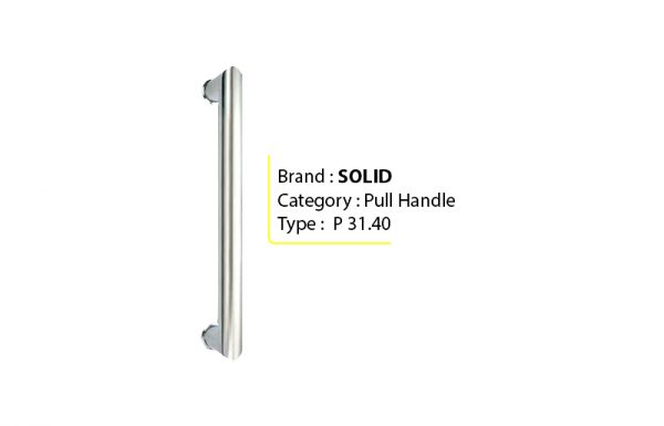 SOLID P 31.40 – Pull Handle