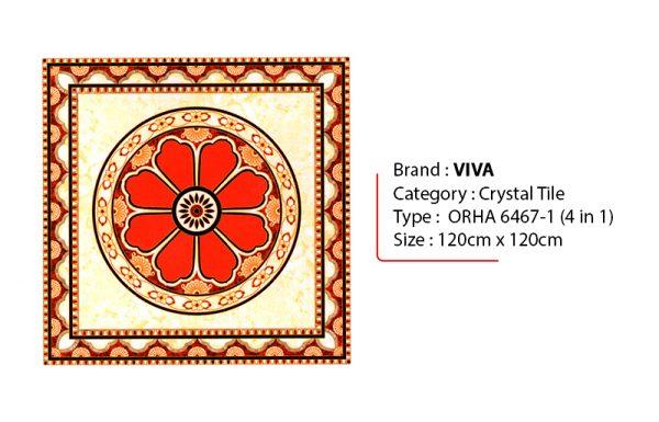 VIVA ORHA 6467-1 Granit Crystal